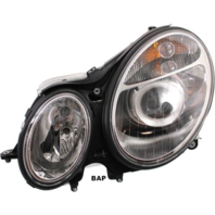 Fits 03-07 MB E-CLASS LT DRIVER HALOGEN HEADLAMP ASSEMBLY TO 6/30/06
