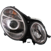 Fits 03-07 MB E-CLASS RIGHT PASS HALOGEN HEADLAMP ASSEMBLY TO 6/30/06