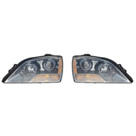 Fits 07-08 Up to Prod 4/21/08  Sorento Left & Right Headlamp W/Gray Bezel-Set