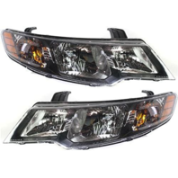 Fits 10-13 Forte Sedan 11-13 Forte Hatchback Left & Right Halogen Headlight Assm