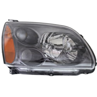 FITS 04-10 MITSU GALANT RT PASS HALOGEN HEADLAMP ASSM STANDARD TYPE W/DARK BEZEL