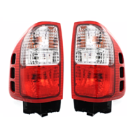 Fits 00-03 Iu Rodeo Sport / 2000 Iu Amigo / 00-04 Iu Rodeo Left & Right Set Tail Lamp Assemblies