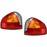 Fits  01-04 Hyundai Santa Fe Left & Right Set Tail Lamp Assemblies