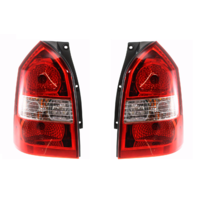 Fits 05-09 Hyundai Tucson Left & Right Set Tail Lamp Assemblies