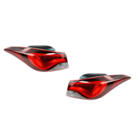 Fits 14-16 Elantra Left & Right Set Tail Lamp Assms Quarter Mounted Led Type Korea Built