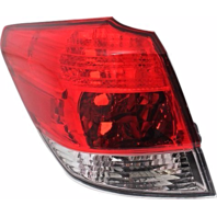 FITS 10-14 SUBARU OUTBACK LEFT DRIVER TAIL LAMP HOUSING OUTER BODY MOUNTED