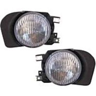 Fits 02-03 Galant Left & Right Fog Lamp Assemblies - pair