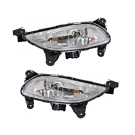 Fits 11-13 Sonata (except Hybrid) Left & Right Fog Lamp Assemblies (pair)