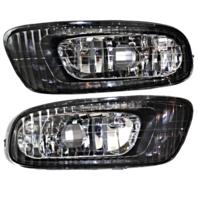 Fits 02-03  ES300; 04  ES330 Left & Right Fog Lamp Assemblies (pair)