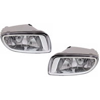 Fits 01-03 Elantra GT Left & Right Fog Lamp Assemblies (pair)