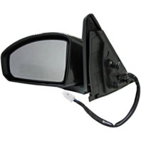 Fits 03-07  G35 Coupe Left Driver Power Unpainted Mirror With Heat