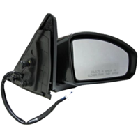 Fits 03-07  G35 Coupe Right Passenger Power Unpainted Mirror With Heat