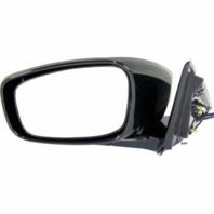Fits 11-12  G25 Sedan Left Driver Pwr Unpainted Mirror W/Heat No Memory