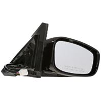 Fits 11-12 Infinit G25 Sedan Right Pass Power Unpainted Mirror W/Heat No Memory