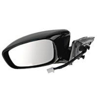 Fits 09-13  G37 Sedan Left Driver Pwr Unpainted Mirror With Heat Memory