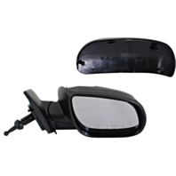 Fits 06-09  Accent Right Pass Mirror Manual Remote Non-Painted No Heat