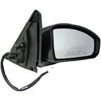 Fits 03-07  G35 Coupe Right Passenger Power Unpainted Mirror No Heat