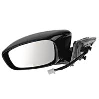Fits 11-12  G25 Sedan Left Driver Power Unpainted Mirror No Ht / Memory