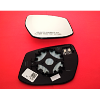 Fits 16-18 Nissan Maxima Right Pass Convex Mirror Glass w/ Rear Holder OEM Part