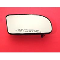 Fits 09-14 Nissan Maxima Right Pass Heated Mirror Glass w/ Rear Holder OEM