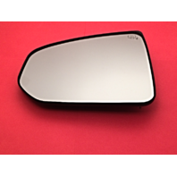 Fits 09-19 Nissan 370Z Left Driver Heated Mirror Glass w/ Rear Holder OE