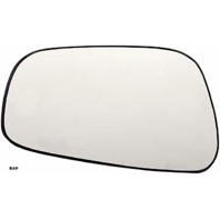 Fits Nissan 05-17 Frontier,  05-12 Pathfinder,  05-15 Xterra,  09-11 Suzuki Equator Left Driver Mirror Glass w/ rear mount backing plate OE