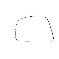 Fits 07-12 Nissan Versa Left Mirror Glass w/ Rear Holder OE