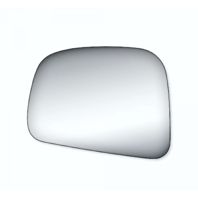 Fits 07-*12 Nissan Versa Left Driver Replacement Mirror Glass Lens