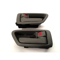 Fits 97-01 Camry Left & Right Interior Door Handles w/ Bezel Gray Fits Front & Rear