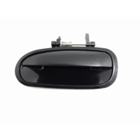 Fits 96-00  Civic Exterior Door Handle Left Driver Side Rear Black Opt PTM