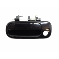 92-96 Camry Left Driver Front Exterior Door Handle Smooth Black