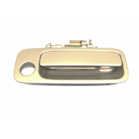 97-01 Camry Painted Right Pass Front Exterior Door Handle Beige Paint Code 4M9