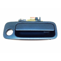 Fits 97-01 Camry Painted Right Pass Front Ext. Door Handle Sailfin Blue PaintCode 8N7