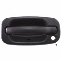 Fits 99-(07) Chevy Silverado Classic Left Driver Exterior Door Handle Text Black