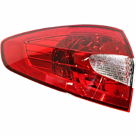 Fits 11-13 Ford Fiesta Sedan Left Driver Tail Lamp Assembly Quarter Mounted