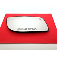 Fits 10-16 MKS Right Pass Mirror Glass Heated w/Blind Spot Detection & Rear Holder  OE