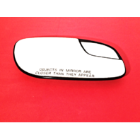 Fits 12-18 Taurus Right Pass Mirror Glass w/ Small Spot, Rear Holder non Heated