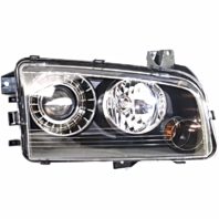 Fits 08-10  Charger Left Driver HID Headlamp Assembly With Out HID Kit