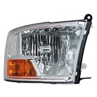 Fits 09-10 Dodge 1500 Pickup 10 2500 3500 Pickup Right Headlamp Asm No Quad Lamp