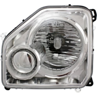 Fits 08-12 Jeep Liberty Right Pass Headlamp Assembly W/Chrome Bezel No Fog Lamp