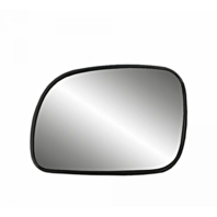 Fits 96-07 Caravan, Town & Country Left Driver Mirror Glass w/Rear Holder