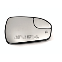 Fits 13-18 Fusion Right Pass Heated Convex Mirror Glass w/Rear Holder OE