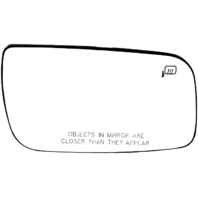 Fits 08-09  Taurus Right Pass Heated Mirror Glass  w/Rear Holder OE