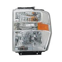 Fits 08-19  E Series Van Left Driver Composite Headlamp Aero Style