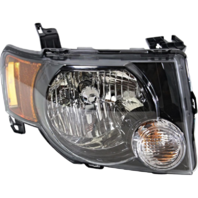 Fits 09-12 Ford Escape & Escape Hybrid Right Pass Headlamp Assembly W/Dark Bezel