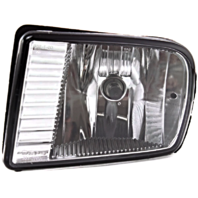 Fits 00-02  LS Left Driver Fog Lamp - Rectangular Design