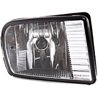Fits 00-02  LS Right Passenger Fog Lamp - Rectangular Design