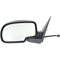 Fits 02 Escalade / Avalanche Left Driver Mirror Power W/Ht Manual Fold No Light