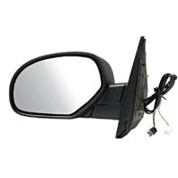 Fits 07-13 Escalade ESV Silverado Sierra Left Driver Pwr Mirror Ht PuddleManFold