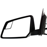 Fits 08-10  Outlook Left Driver Power Mirror W/Ht Mem Sig Spotter Pwr Fold